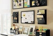 Office Space / Organized space = Less stressed you.