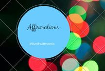 Affirmations / Statements to keep you on track... http://globalhomebusiness.com/soniasoltoggio