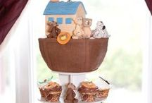 Round Cupcake Towers Displays / Inspiration for how to use The Smart Baker's Round Cupcake Towers