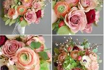 Christine paper design - bridal bouquets / Handcrafted paper flowers for beautiful and unique bridal bouquts.