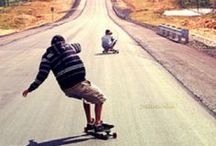 Mixed Media & Wood Ideas / Draw inspiration for longboards and furniturem aking