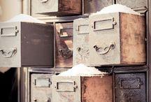 Furnitures | Shabby chic | Vintage | Storage