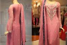 Designer Pakistani Suit Collection / Latest collection of new style and trends of designer Pakistani clothes.