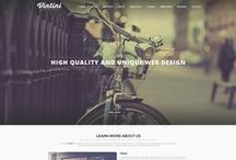 Single page webdesigns / Single page websites
