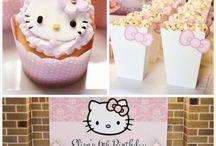 Hello Kitty party: childeren