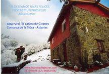 NAVIDADES EN LA CASINA DE GIRANES / Turismo Rural En ASturias, Comarca de la Sidra, http://casinadegiranes.wordpress.com   tf +34 669031887 - 985876132,  Susana