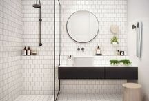 Fresh and clean / Bathroom planning