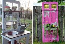 Re-Use Doors & Windows / Projects, Inspiration, and decor using vintage windows, doors, shutters, gates and more