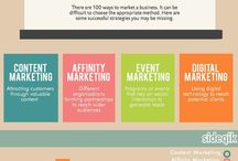 Marketing / Tips, Tricks and Infographics helping you make the most out of your marketing efforts