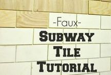 """Fake it till you make it! / A collection of """"faux"""" diy projects and treatments."""