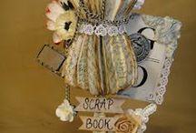 3D Scrap inspiration / Scrapbooking, Craft, Altered, Box, wall art / by Terry's Scrapbooks