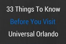 Universal Orlando Top Tips / Essential tips for your trip to the Universal Orlando theme parks. Universal Studios Orlando and Universal Islands of Adventure tips and advice. From goinformed.net