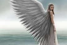 Angels & Fairies / Collection of all our Angel and Faery art and jewelry.