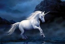 Unicorns / Jewelry, Gifts, Greeting Cards, and Artwork