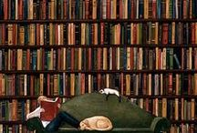 Knihy/books / Everything, what you will get on your mind, when I will say - the book (nice evening, a cup of tea or coffee, a cozy bookstore, smart quotes...etc.)