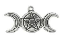 Wiccan Practical Magick Pendants / Wicca: the sacred way.   Made in the USA.
