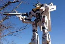 Robotech Macross / Robotech, especially the first series a. k. a. Macross.