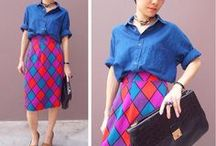 pencil skirt / http://inspirationhunger.tumblr.com/post/53807234692/saia-lapis / by Inspiration Hunger