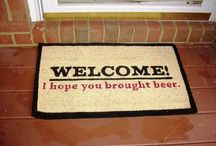 Craft Beer Humor / Those that drink craft beer together and laugh a lot together, will live happily and be merry.