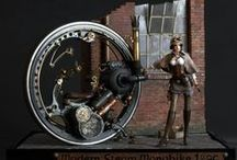 Steam Dream / Steampunk and diselpunk inspiration for making Wolsung models