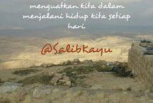 @SalibKayu / Firman Tuhan setiap hari, follow @SalibKayu on twitter