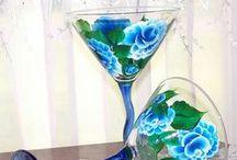 pintura en ceramica y vidrio