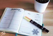 Bullet Jounal | Planning mensuel