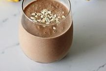 Smoothie Recipes / All of my favourite smoothie recipes from healthy breakfast smoothies to cocktail smoothies, to indulgent and over the top chocolate smoothies!