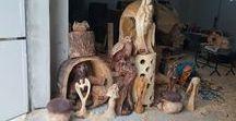 WoodWork praca z dreva M.Z / Sochi a interierove dplnky  ..