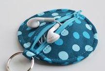 cucito accessori- sewing / cucito borse portachiavi borselli zainetti