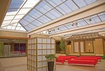 Commercial Products Gallery / Offering a full line of quality structural skylights with a wide range of glazing, finishing and limitless design provides customization versatility for commercial skylighting projects.