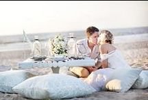 Our Bohemian Beach Wedding / Inspiration for planning the big day, boho beach tropical style!