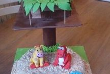 My own made things - zelf gemaakte dingen / My own creative ideas from paper, pixelen, flowers or cakes