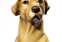Dog Statues / Celebrate the passing of your pet with a memorable dog statue to decorate your garden. At Saint Francis Garden, we carry a large selection of dog statues of various breeds. Many of our dog statues are available in full life size. Our dog sculptures can be placed in an outdoor area, in the garden or wherever such a piece might be appropriate for your home.
