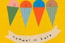 summer fete poster design inspiration