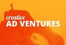 Creativity at Work / And an Ad Venture around every corner.