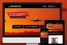 Custom Responsive Websites / Custom responsive websites designed by Ad Ventures.