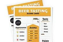 Beer Tasting Tips / Wish you knew more about craft brews? Hoppy... do I like that? Want to learn to discern flavors and textures in your favorite beers? Up your craft brew game by learning about tasting!
