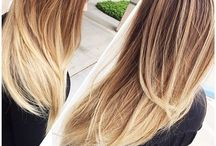 #OmbreStyless / Beauts brunette to blonde gradual ombres