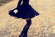 ~little black dress style / Black outfits