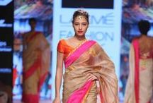 Fashion Week: India / The latest fashion trends and styles from the runway shows, highlight on the designers and models