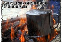 Water Purification & Filtration / Tips and skills for filtering and purification of your water in an emergency situation