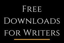 Free Downloads for Writers / Amazing free downloads for writers to help you craft your book. How does free downloads for character creation, settings / world building, productivity tips, and self publishing sound? Here are free resources for all this, and much more.