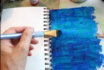 Art Journals and Scraps / by Ouellet Bee
