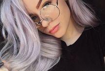 Hair colour& cut ideas