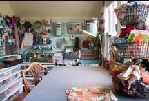 Creative Spaces / Sewing Rooms, Craft Rooms, Sewing Organization, Craft Organization