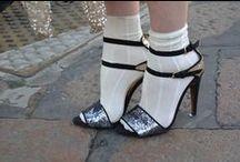 Sandals + Socks / Street style sandals + socks