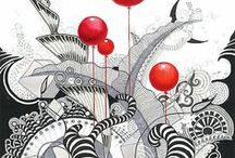 Zentangle / Doodles III / by Maria M. G.
