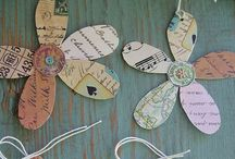 Crafts of paper / Kreativitet med papir