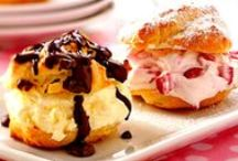 Eclairs and Cream Puffs / by C Dozier